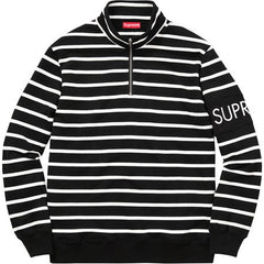 *new* Supreme Striped Half-Zip Pullover -XL DS
