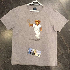 *new* Polo Tennis Bear Tee - Medium