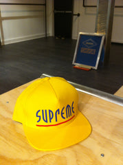 *new* Supreme Riot 5 Panel Cap (Yellow) DS