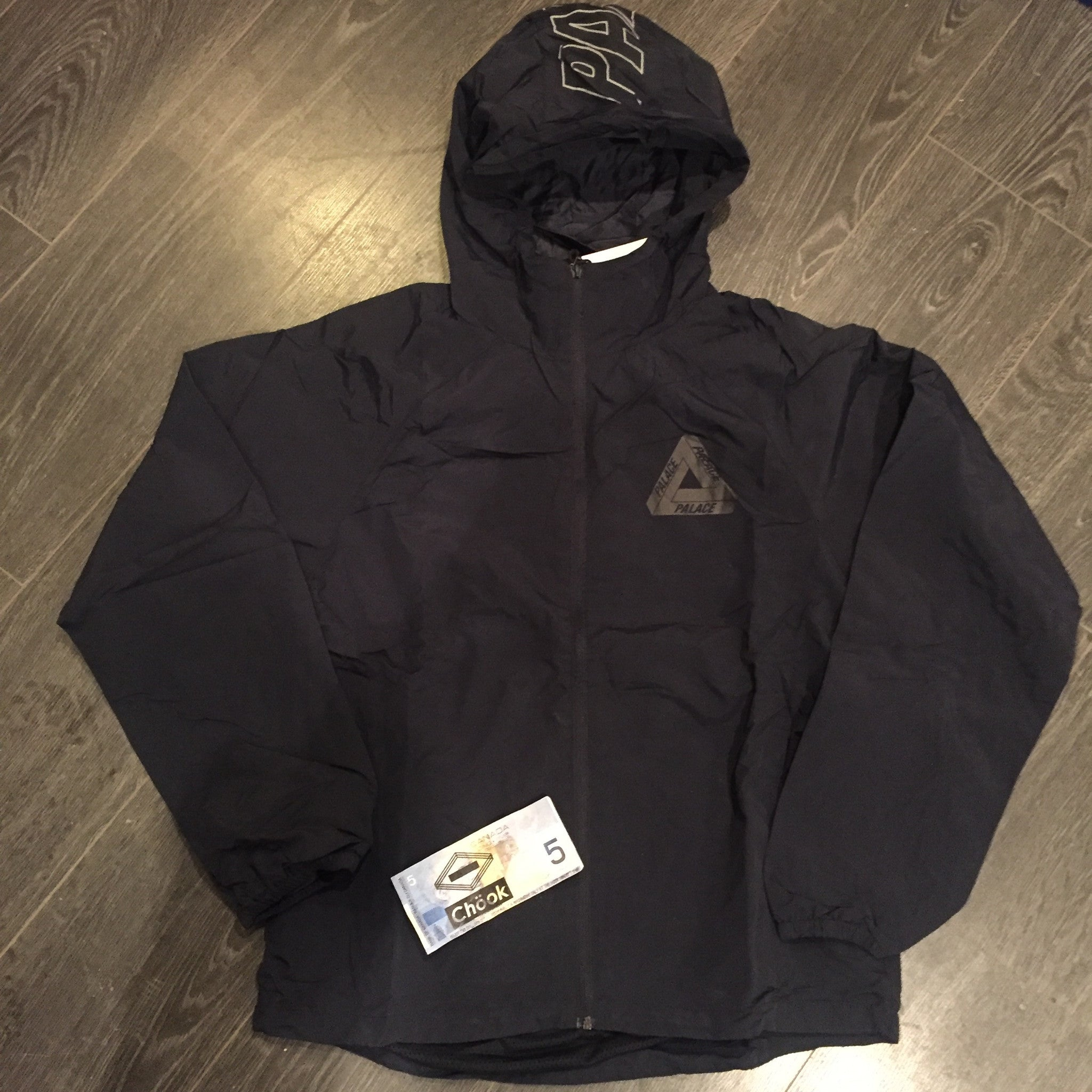 *new* Palace Hooded Windbreaker - Navy XL