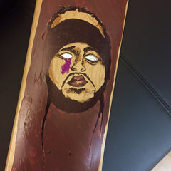 "*new* Chook ""purple"" Skate Deck - Sz 8"