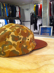 Supreme Camo Leather Camp