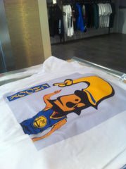"""300"" Golden State tee (White)"