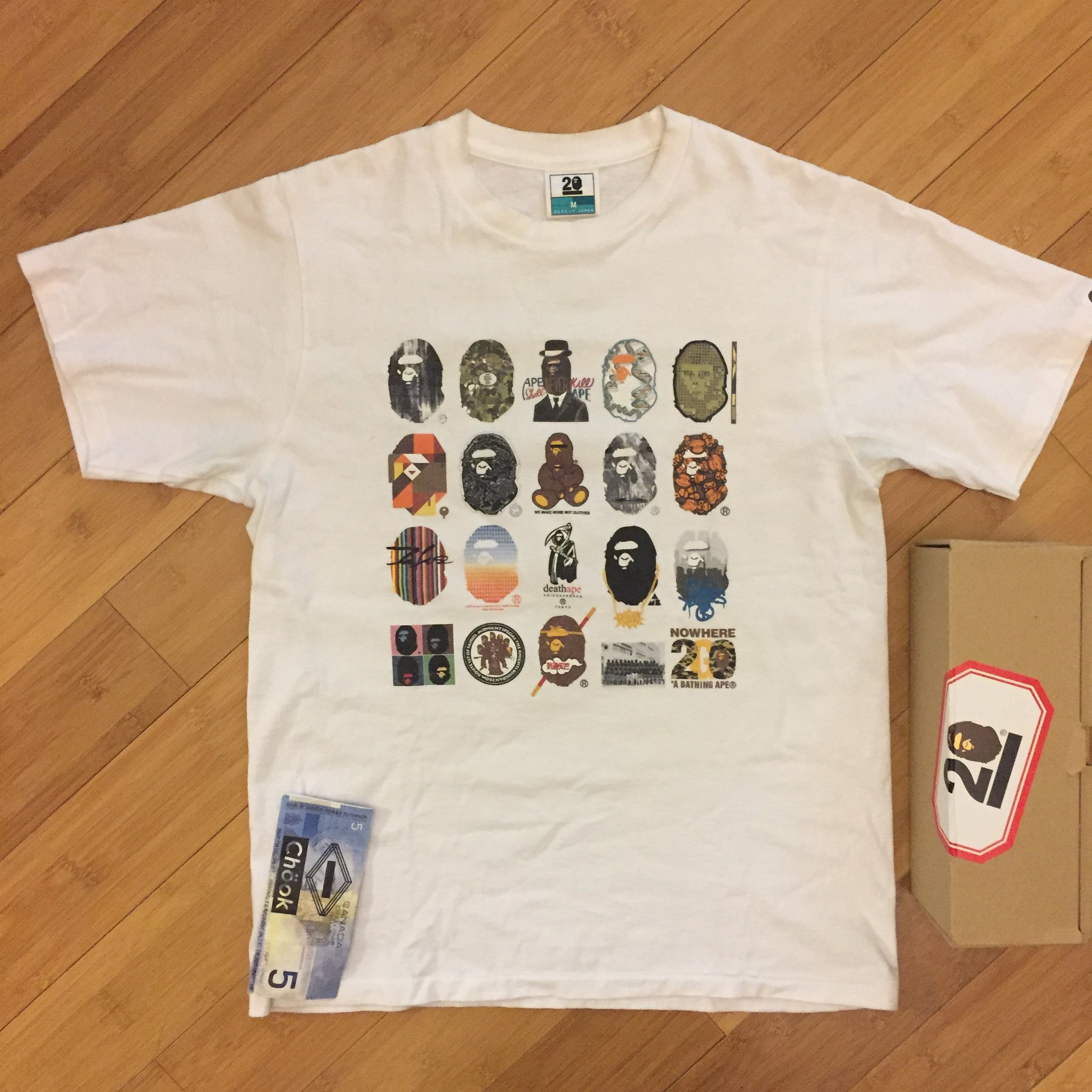 *new* Bape 20th Anniversary Tshirt
