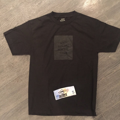 *new* Antisocial Social Club tonal tee DS