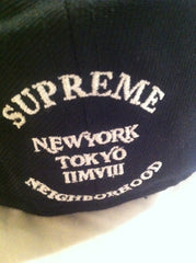 Supreme x Neighborhood Fitted - Black