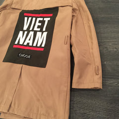 "*new* Chook ""Vietnam"" Trench Coat"
