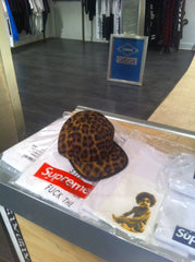 Supreme Leopard 5 Panel w Leather Strap