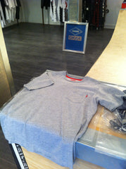 Supreme Grey Pocket Tee