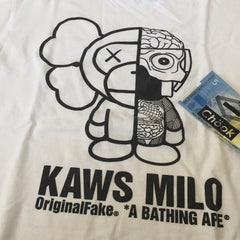 Bape Kaws / Milo Tee - Medium