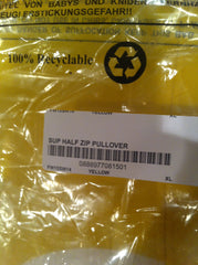 *new* Supreme Yellow Half-Zip Pullover