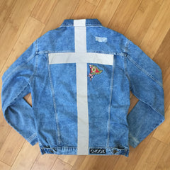 "*new* SHCCK ""Reflect"" Denim Jacket"