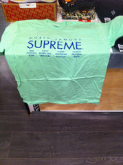 Supreme International Tee - Pale Acid DS Large