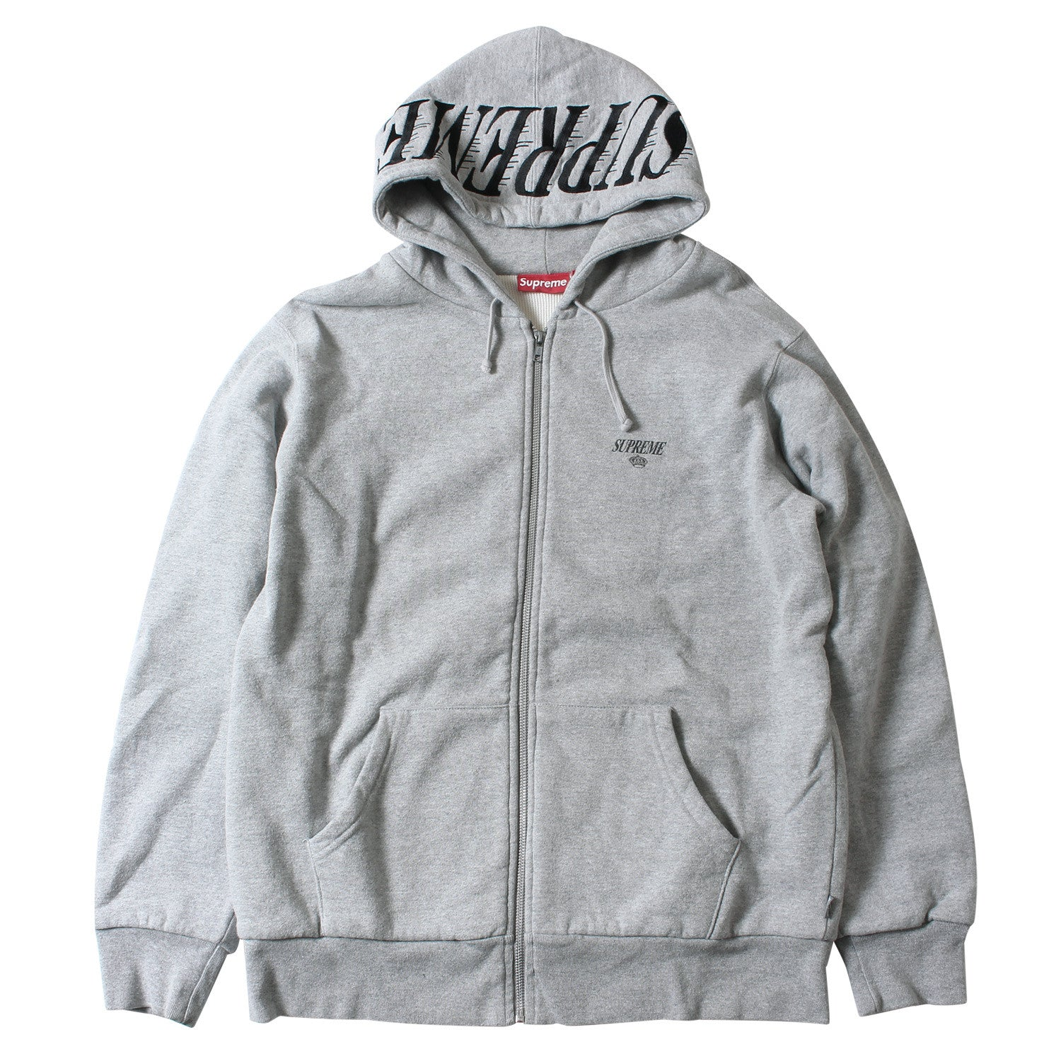 new  Supreme Kings Thermal Zip-Up Hoodie (Grey) – SHCCK f7b6d17e311