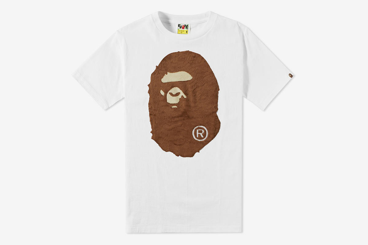 Bape Ape Head BOA Tee DS XL