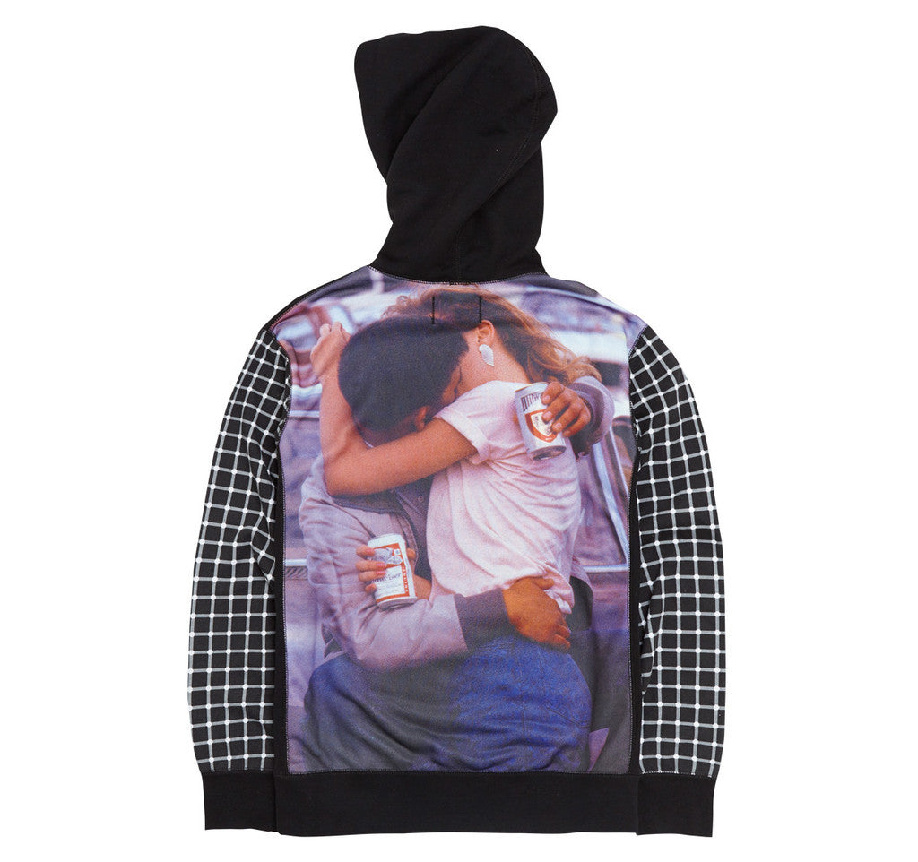 Fucking Awesome America Hooded Pullover (Black) - DS, L