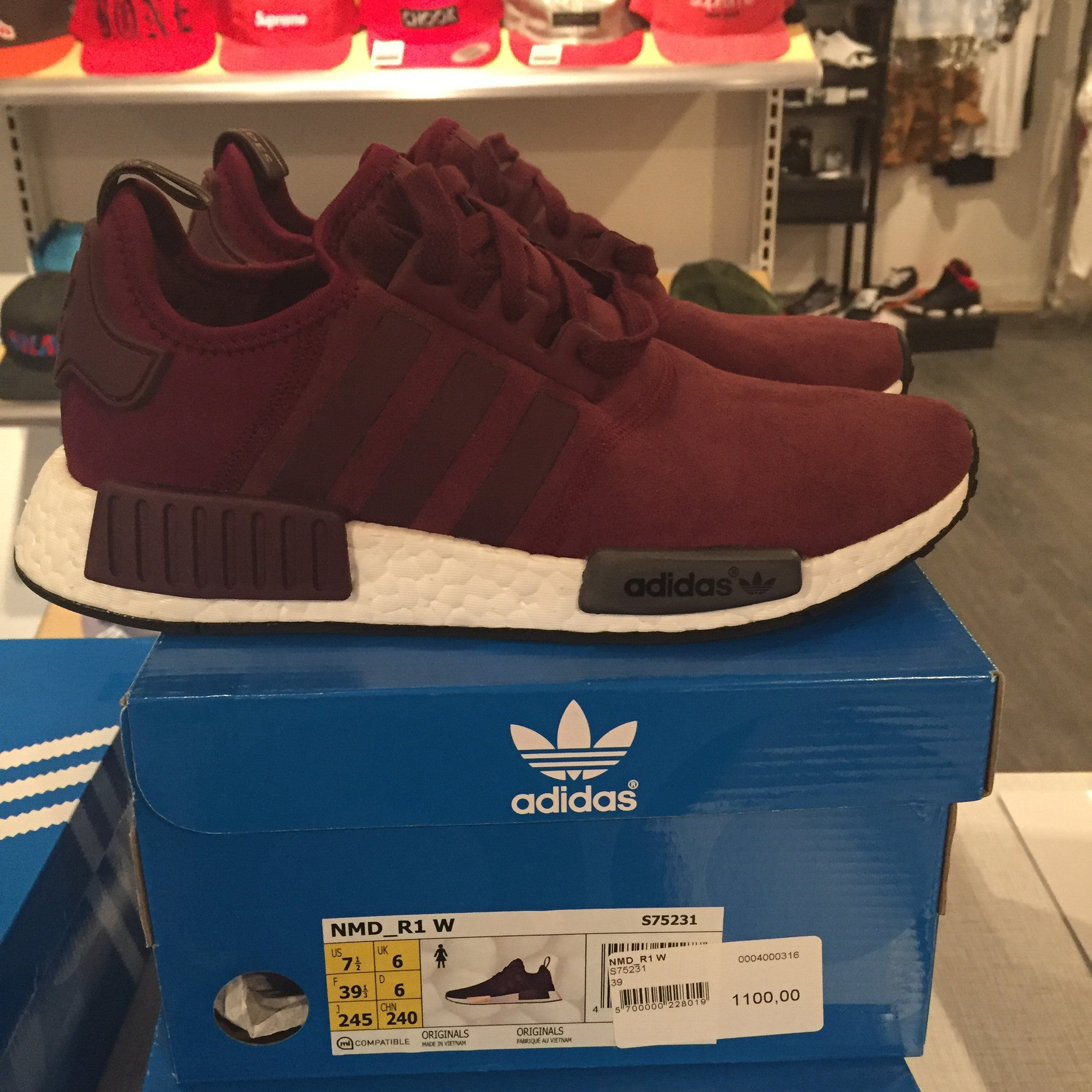huge selection of ebe8c a7a6d adidas classic adidas nmd maroon