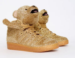 Jeremy Scott / Adidas Glitter Bears DS
