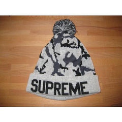 *new* Supreme Camo Beanie (Cream)