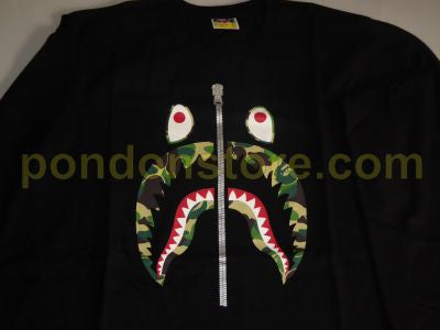 bape shark long sleeve shirt