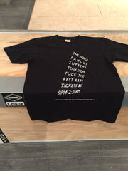 *new* Supreme Flyer tee DS