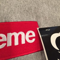 *new* Supreme Box Logo Hoodie - Heather Grey