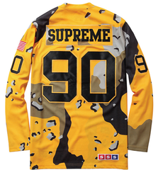 Supreme Desert Camo Hockey Top (Yellow)