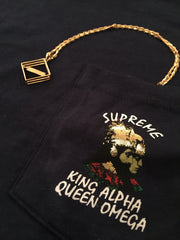 *new* Supreme King Alpha Pocket Tee DS