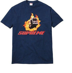 Supreme Express Tee - Medium Navy