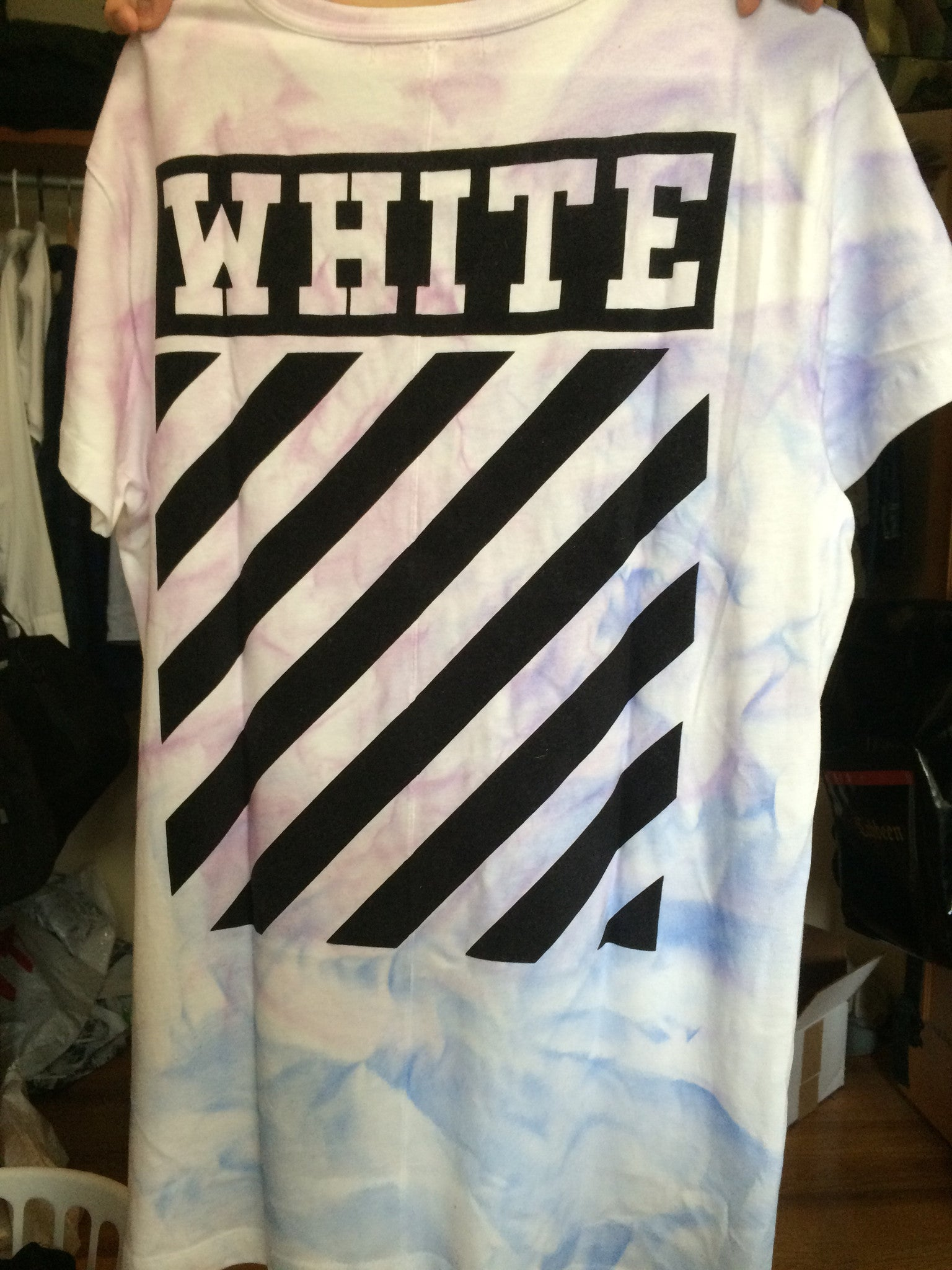 Off-White / SSENSE Tie Dye Long Tee