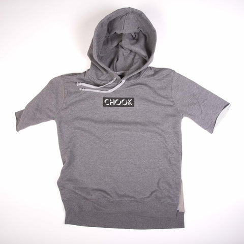 *new* Chook Short Sleeve Hooded Pullover - Box Logo