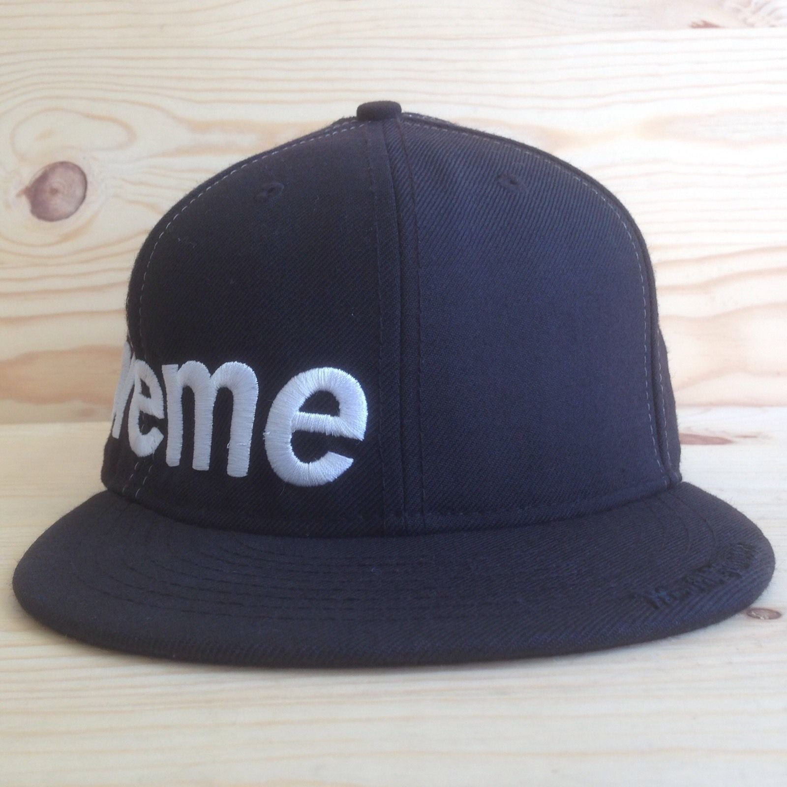 new  Supreme Fitted Side Logo Hat - FW 2006 – SHCCK f5f505c1616
