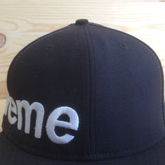 *new* Supreme Fitted Side Logo Hat - FW 2006