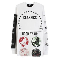 "Hood By Air ""Globes"" Long Sleeve DS"