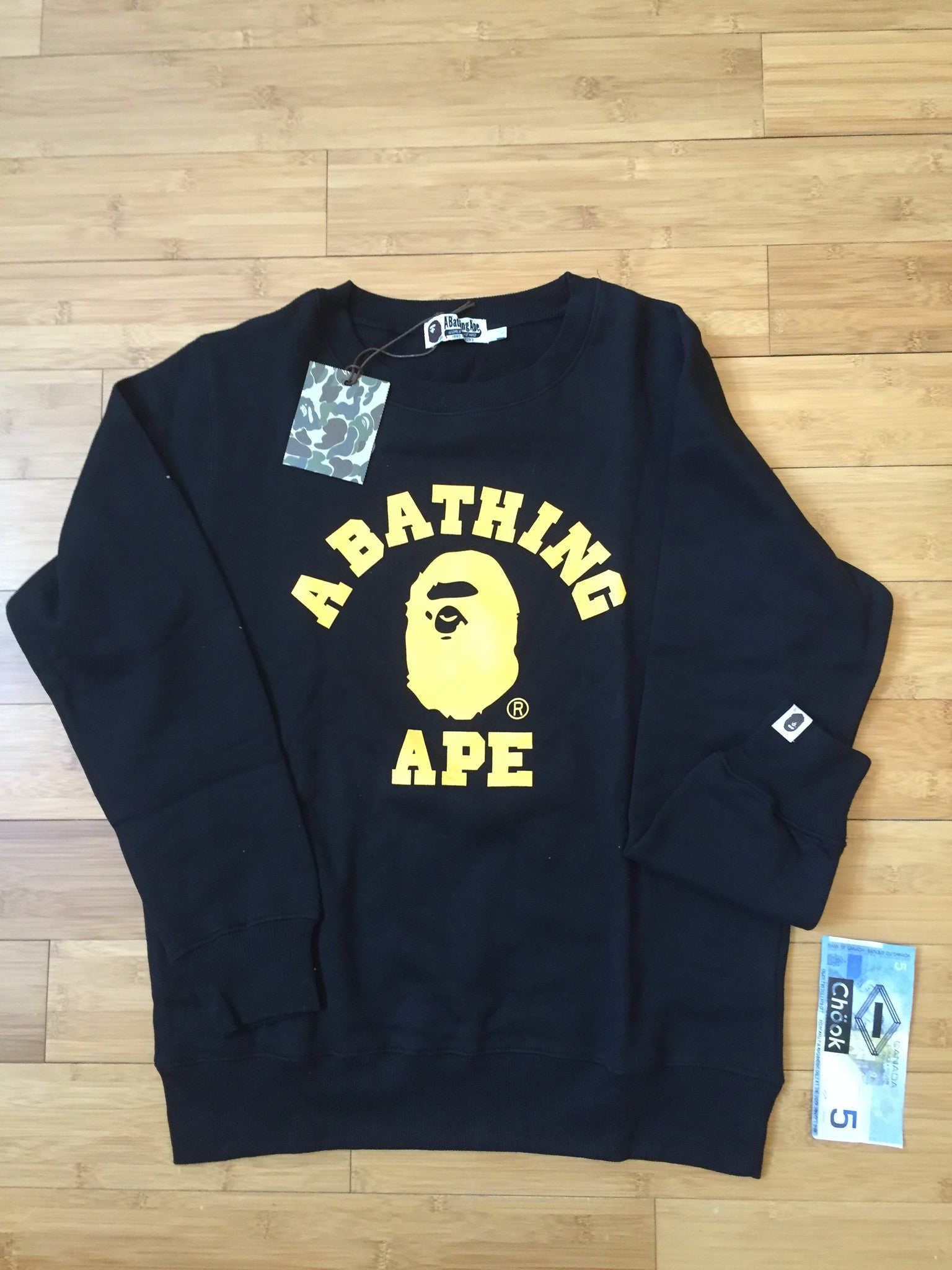 Bape College Crewneck - DS