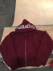 Supreme 3M Zip-Up Hoodie - Large DS