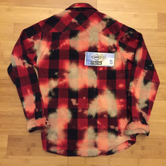 *new* Supreme Bleached Buffalo Heavyweight Flannel M DS