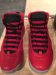 AIR JORDAN 10 Retro 30th - size 10 Gym Red