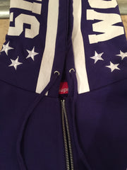 Supreme World Famous Zip-Up Pullover - Large DS