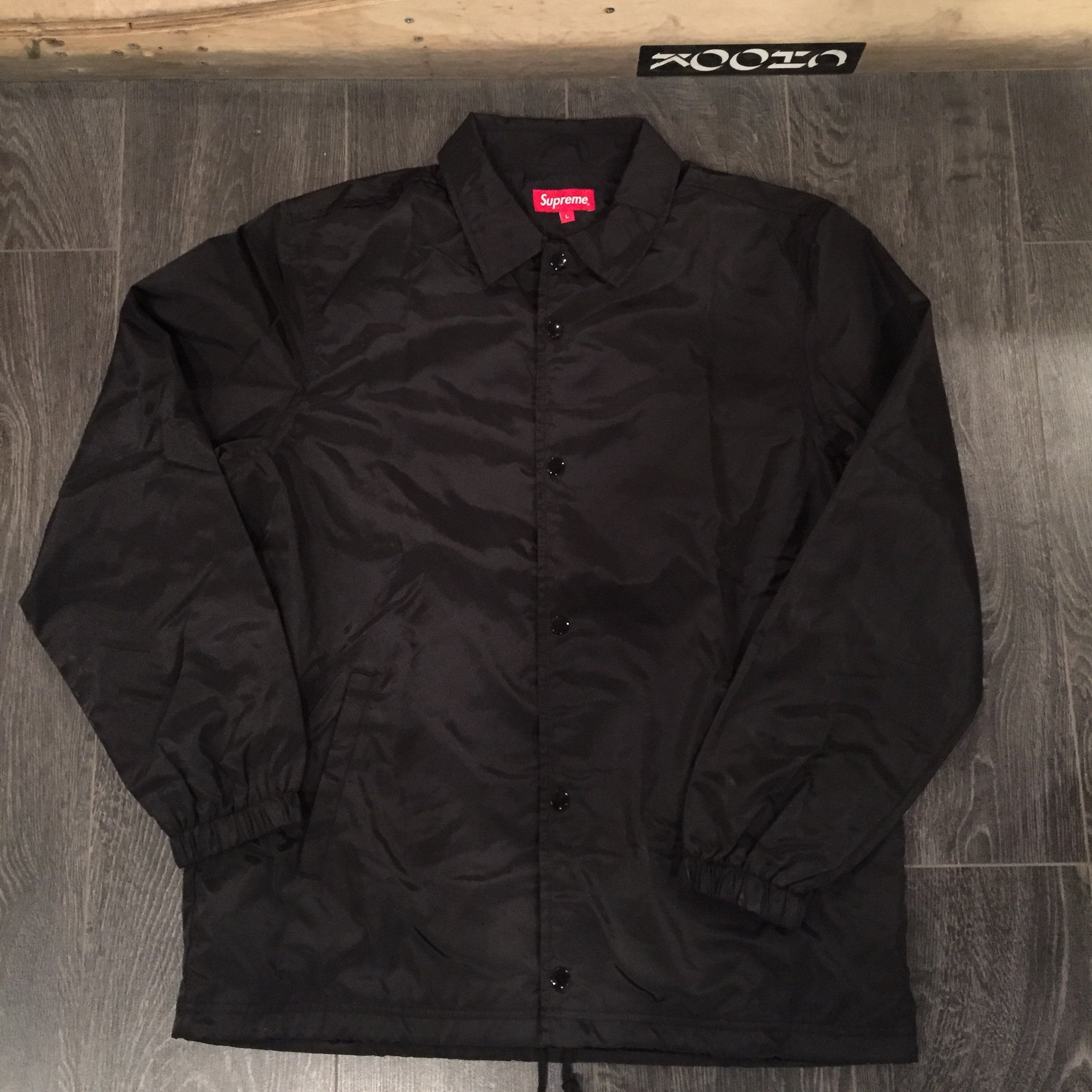 New Supreme International Coach Jacket Ds Large