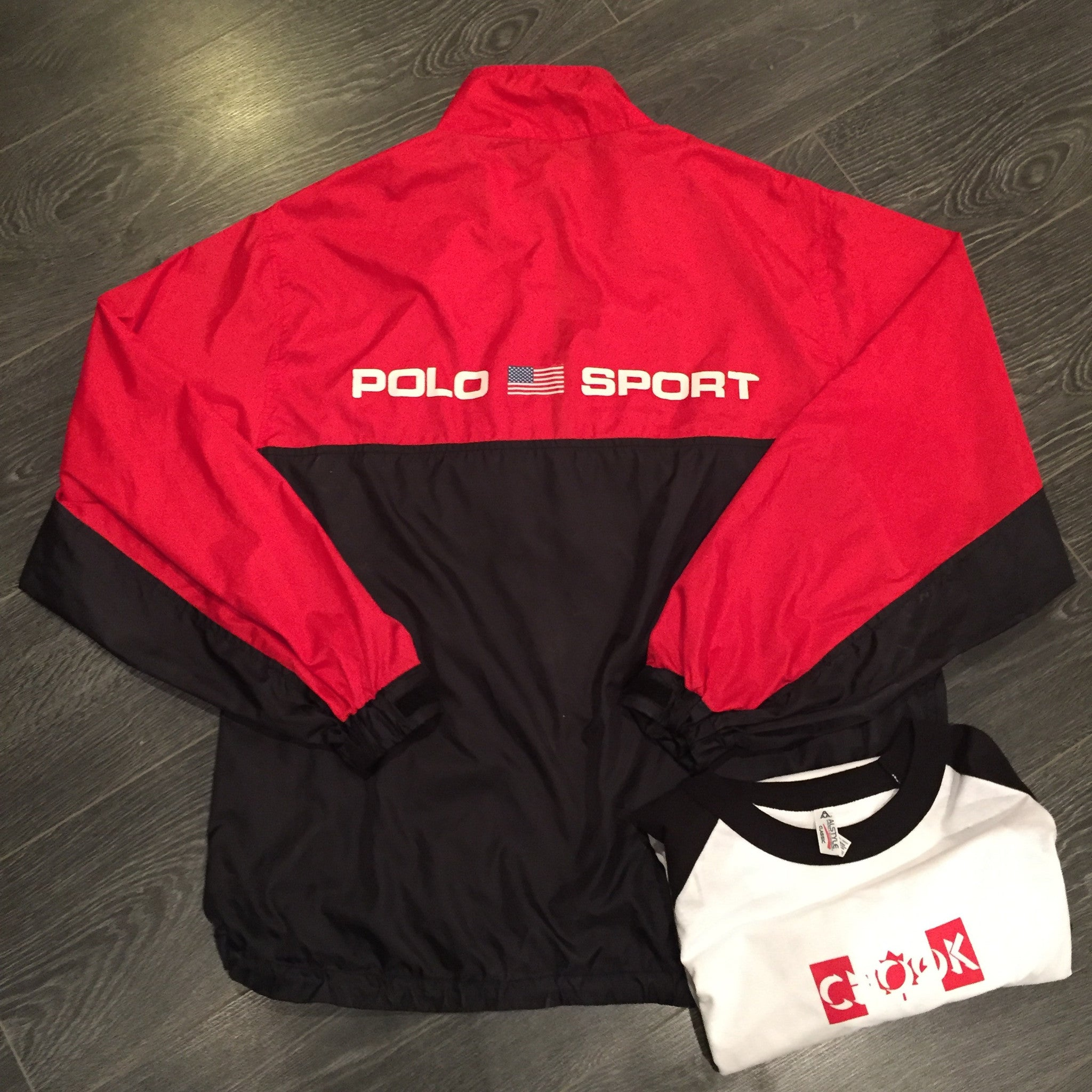 *new* Polo Sport Half Zip Anorak XL