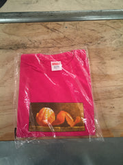 Supreme Orange Peel Tee - Pink L