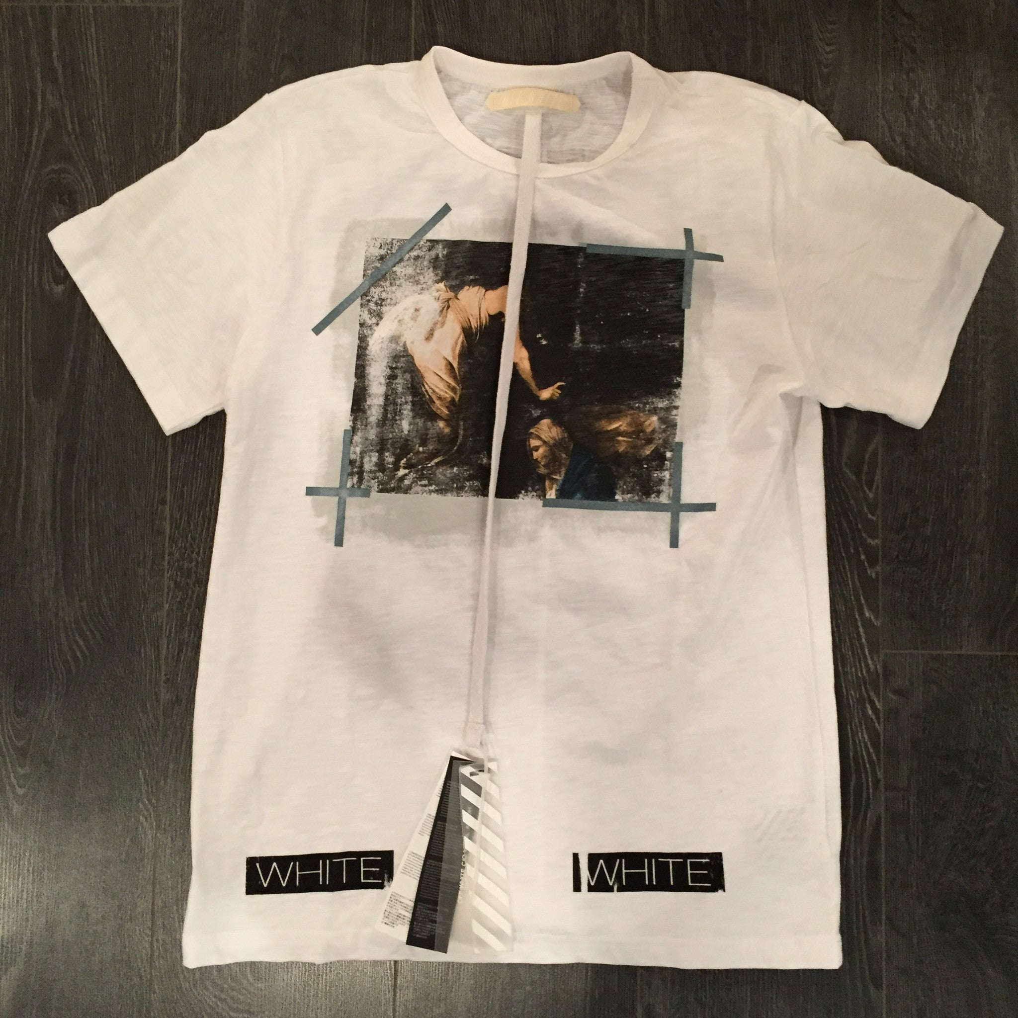 *new* Off-White Faded Painting Tshirt - DS Large