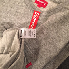 *new* Supreme Grey Pocket Tee - DS Large
