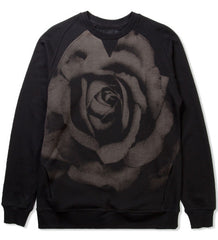 Black Scale Rose Crewneck DS Large