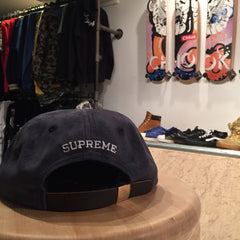*new* Supreme S Logo 6 Panel - Suede DS