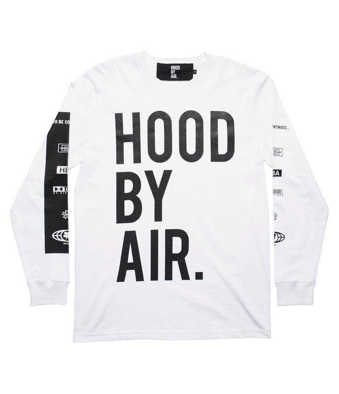 *new* Hood By Air Long Sleeve DS