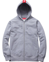 *new* Supreme Logo Tape Zip-up Hoodie Large DS