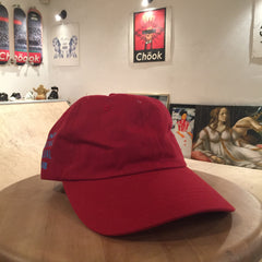 Anti Social Social Club Weird Cap - Cranberry Blue DS