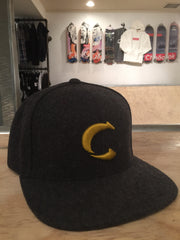CHOOK embroidered wool snapback